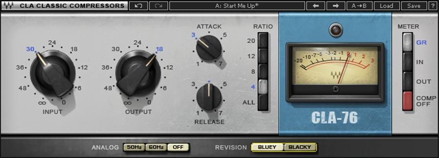 cla 76 bluestripe