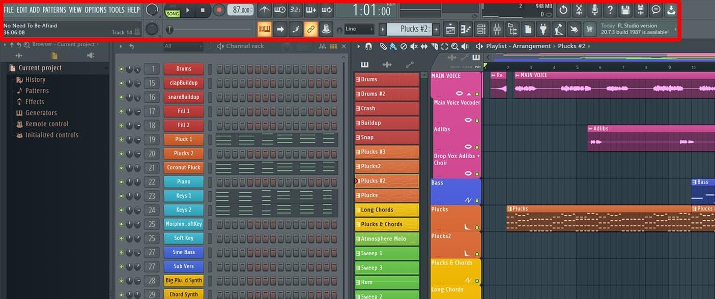 strumenti fl studio 20