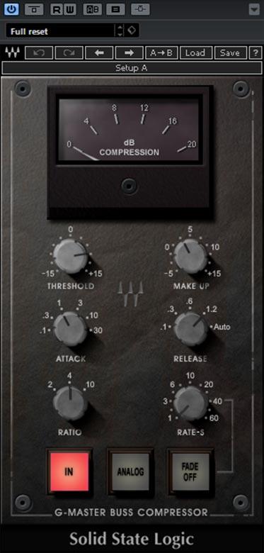 ssl g compressor waves