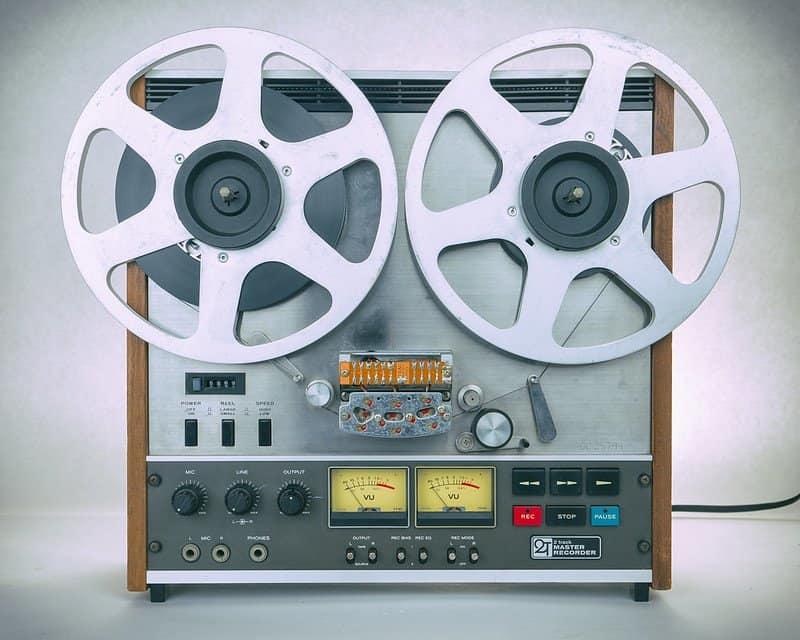 tape recording master
